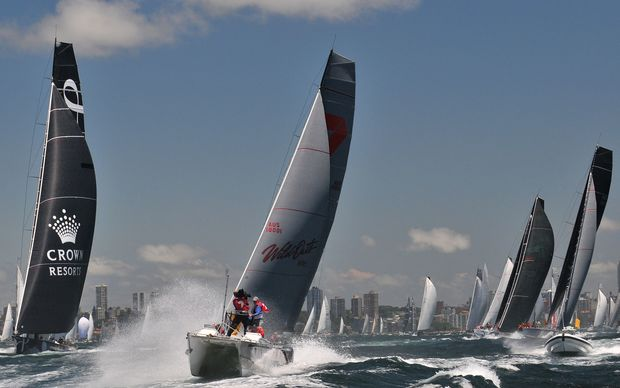 Wild Oats XI will be chasing a record eighth line honours victory in the Sydney to Hobart yacht race.