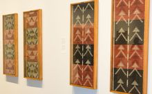 These tukutuku panels will now be housed at the United Nations in New York.