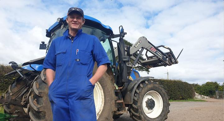 Lepperton dairy farmer Mark Hooper said the lockdown came at a busy time.