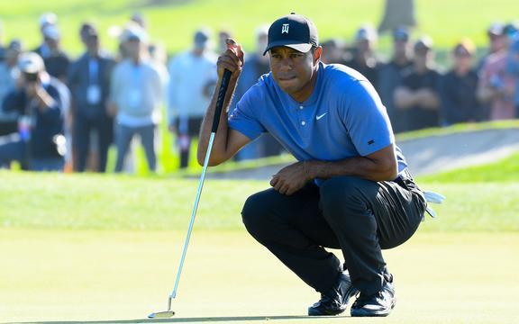 Tiger Woods nel 2019.