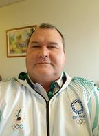 President of the Cook Islands Sports and National Olympic Committee, Hugh Graham.