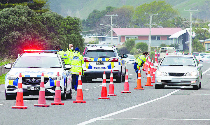 Police questioned the drivers Tuesday morning at a static checkpoint in Okito, Vanuatu.