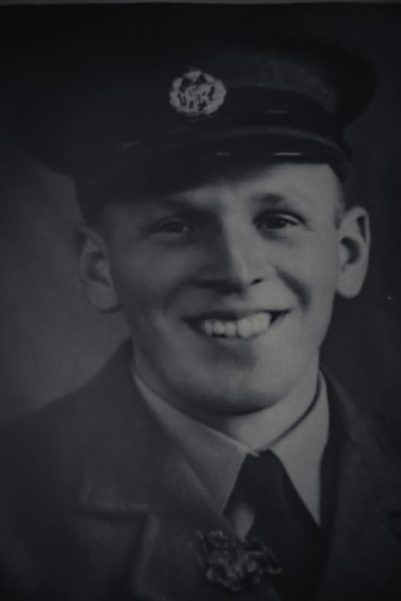 Ron Harmans New Zealand Territorial Air Force, 1937 as a young airman.