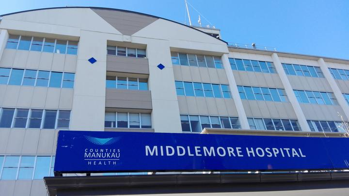 A security guard worked at Middlemore Hospital's emergency department on Thursday last week while symptomatic with Covid-19.