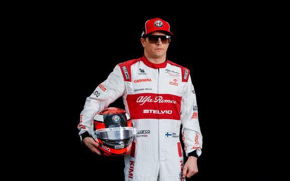 Fiński kierowca F1 Kimi Raikkonen.