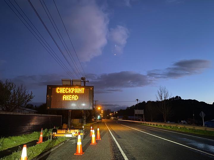 Northland, Auckland border.