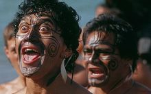 haka performed at Waitangi Day