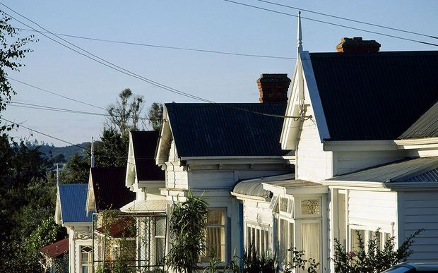 Homes in Auckland, including the suburb of Grey Lynn, are much more expensive than other parts of the country.