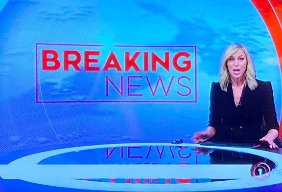 TVNZ 1 News seconds away from reveling the names live at 7pm on Tuesday