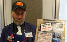 Steam enthusiast Karl Barkely wants to buy the Kingston Flyer through a public trust.