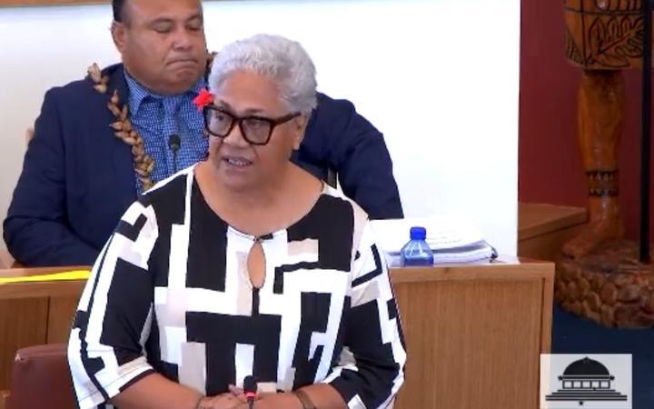 Samoa's Prime Minister, Fiame Naomi Mataafa .