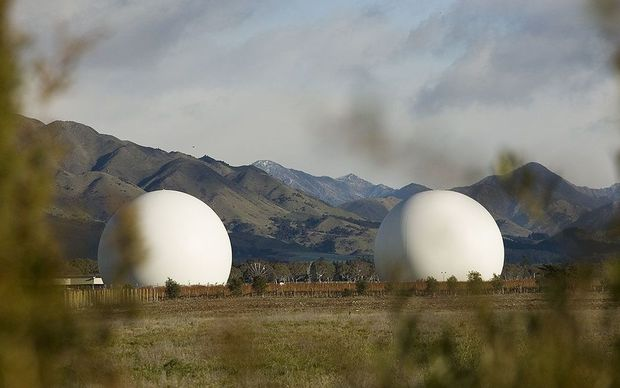 The Waihopai spy base in Marlborough. Opposition parties are concerned about giving the SIS too many powers.