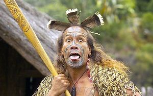 Maori Tourism says some images of warriors may be intimidating for tourists.
