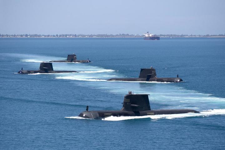 The Australian Collins-class submarines will be replaced by nuclear-powered subs with technology provided by the US under AUKUS