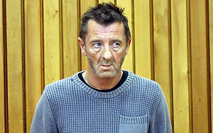 AC/DC drummer Phil Rudd in the Tauranga District Court on Thursday.