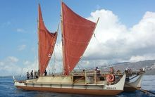 The Hokule'a is on its final leg of the Malama Honua World-Wide Voyage.