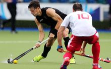 Black Sticks striker Simon Child