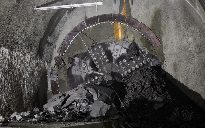 Auckland's City Rail Link tunnel boring machine breaks through to Karangahape Station