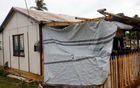 Houses are still badly damaged months after Cyclone Ian.