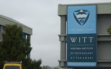 Western Institute of Technology at Taranaki.