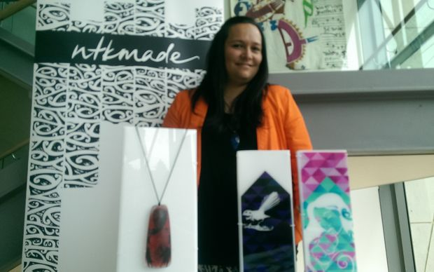 Nichola Te Kiri urged tangata whenua to be brave and think about becoming entrepreneurs.