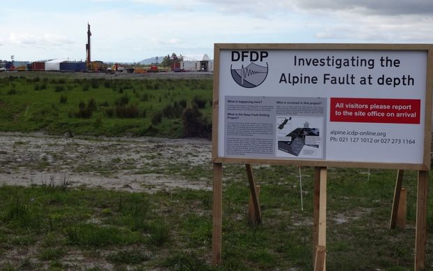 Alpine Fault drilling