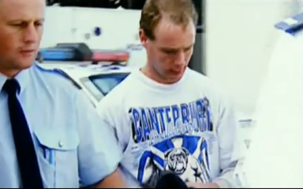 File image of Phillip John Smith in custody in NZ
