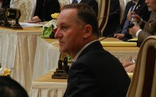 Prime Minister John Key at the East Asia Summit in Myanmar.
