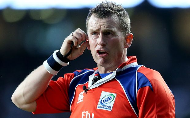 Welsh rugby referee Nigel Owens