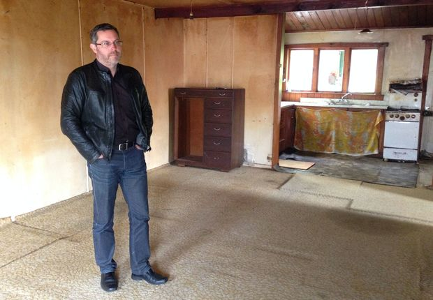 Agent Kirk Vogel said the Grey Lynn home was one of the worst condition houses he had seen for some time.