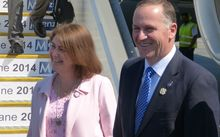 Prime Minster John Key arrives in Brisbane for the G20 Summit.