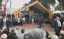 Between 3000 and 4000 people gathered for the opening of the 28th Maori Battalion's C Company House in Gisborne.