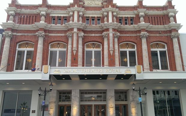 Restoration of the Isaac Theatre Royal cost $40 million.