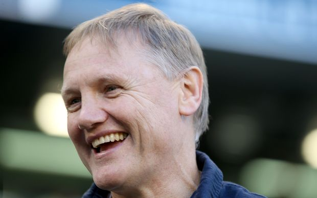 The Ireland rugby coach, New Zealander Joe Schmidt.