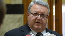 The New Zealand Defence Minister Gerry Brownlee.