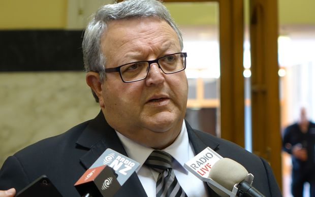 Gerry Brownlee speaks to media after the release of the Civil Aviation Authority report.