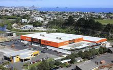A Mitre 10 store in the Waiwakaiho Valley in New Plymouth