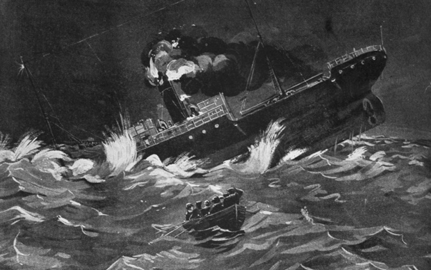 The SS Ventnor sank in the Hokianga Heads in 1902.