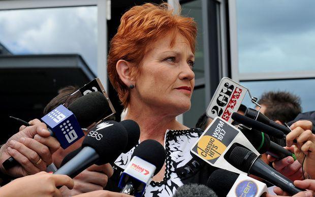Pauline Hanson, in 2011.