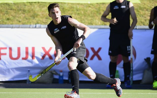 Black Sticks striker Jacob Smith