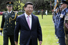 State welcome for Chinese President Xi Jinping at Government House Wellington