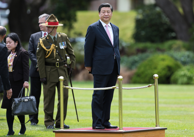 State welcome for Chinese President Xi Jinping at Government House Wellington.