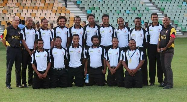 PNG Barramundi's cricket team.