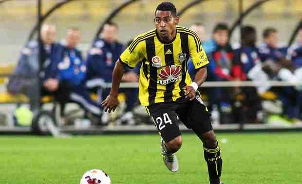 The Phoenix striker Roy Krishna.