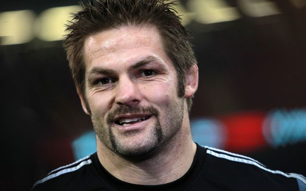 Richie McCaw moustached for Movember.