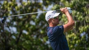 Swedish golfer Henrik Stenson