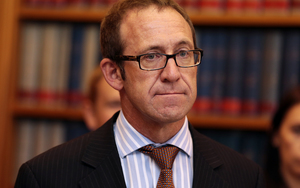 Labour Leader Andrew Little announcing Labour's new caucus