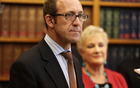 Labour Party leader Andrew Little (left) and new deputy Annette King.
