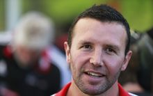 Former All Black now Crusaders assistant coach Aaron Mauger.