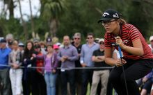 Lydia Ko's appearance at the New Zealand Open last year attracted healthy crowds.